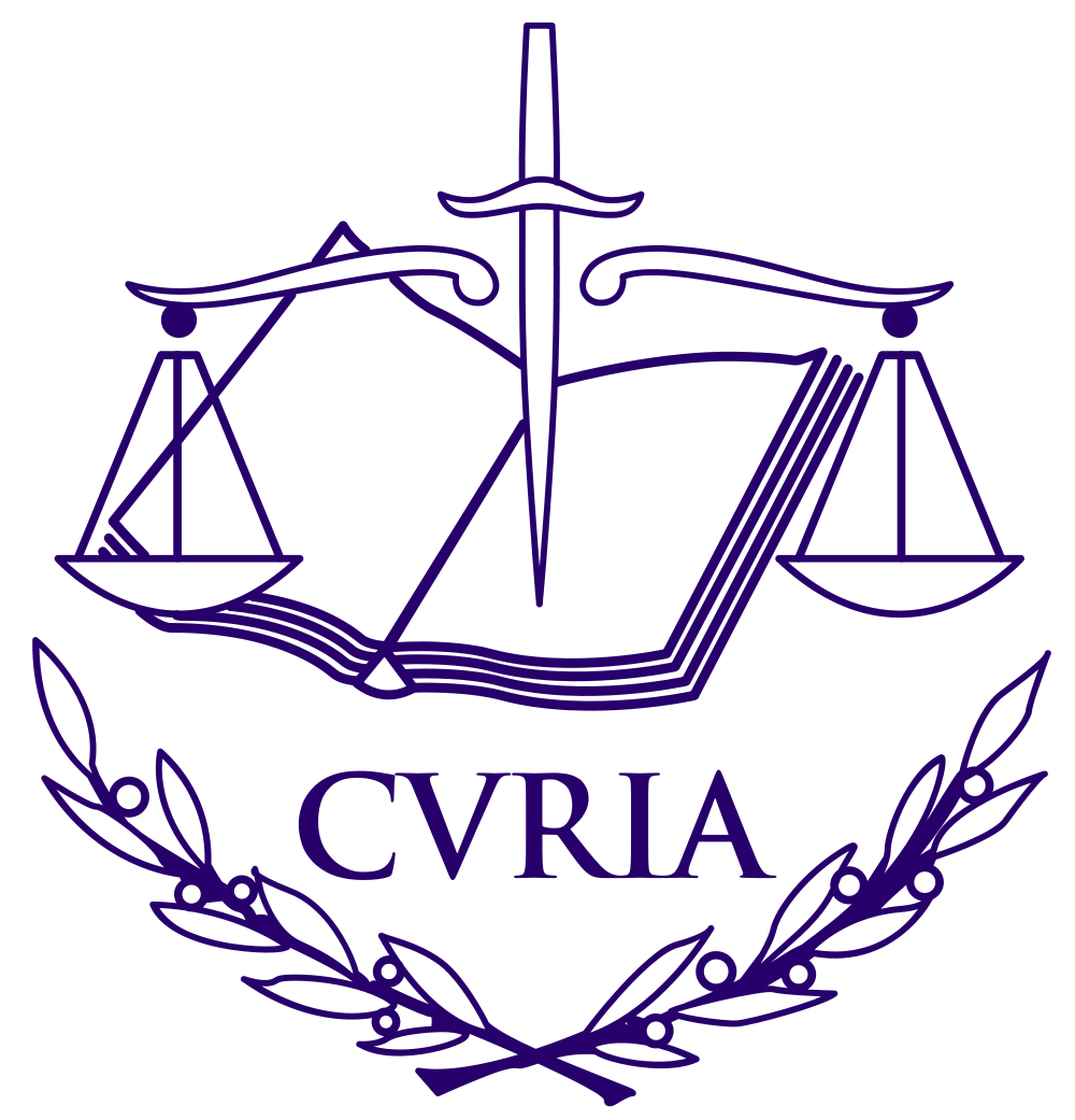 Court of Justice of the European Union (CJEU) Logo
