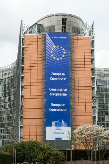Headquarters of the European Commission in Brussels