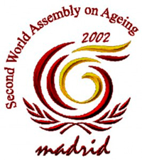 The Madrid International Action Plan on Ageing Logo