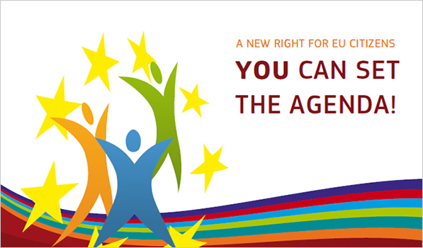 A new right for EU citizens, you can set the agenda