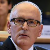 Frans Timmermanns, First Vice-President of the European Commission